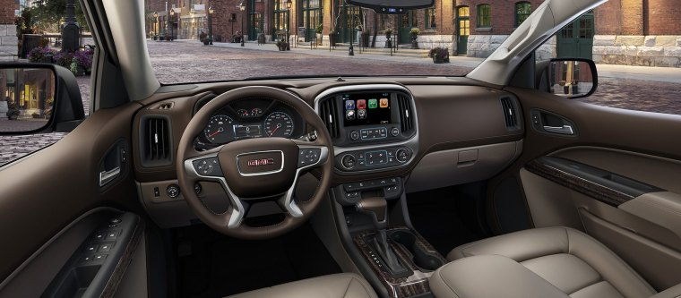 GMC Canyon Interior