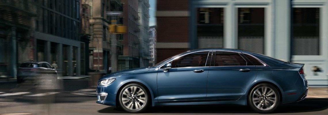 2018 Lincoln MKZ - Exterior Blue Diamond Side