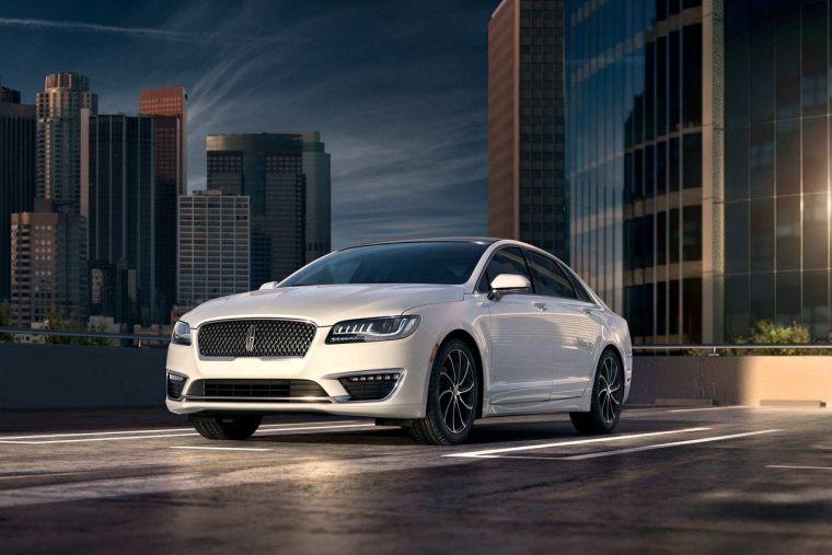 2018 Lincoln MKZ - Exterior White