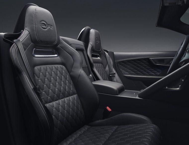 2018 Jaguar F-Type SVR - Interior Black