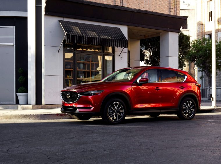 2018 Mazda CX-5 Exterior Driver Side