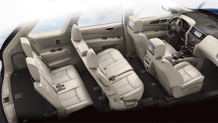 2018 Nissan Pathfinder - Interior Cut Away