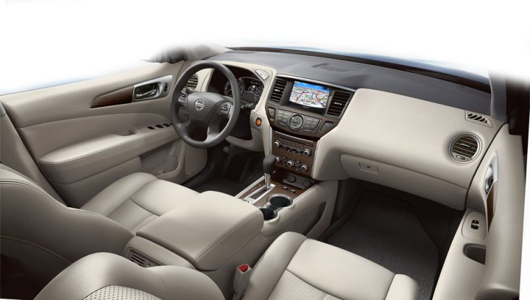 2018 Nissan Pathfinder - Interior Dash
