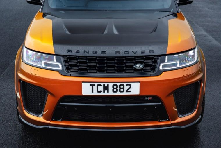 2018 Range Rover Sport SVR - Exterior Hood