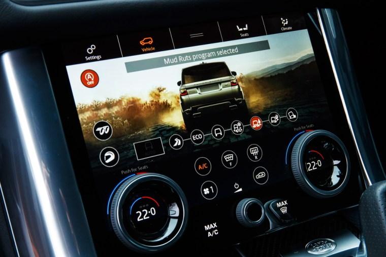 2018 Range Rover Sport SVR - Interior Climate Controls