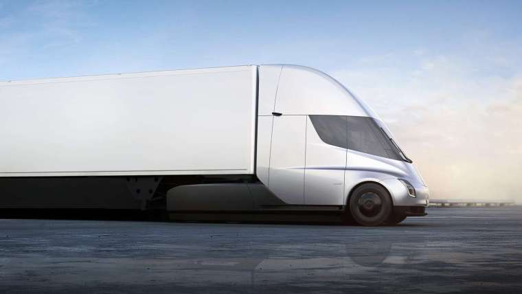 Tesla Self Driving Semi
