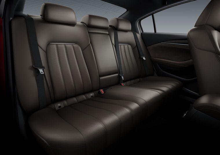 2018 Mazda6 - Interior Rear Seating