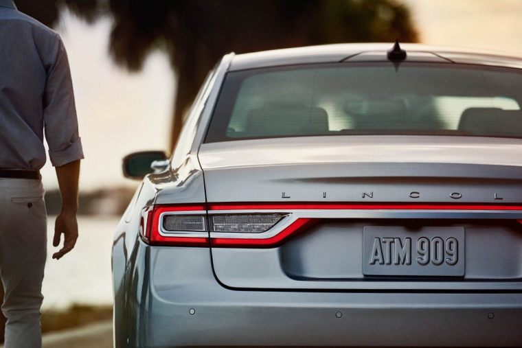 2018 Lincoln Continental - Exterior Rear