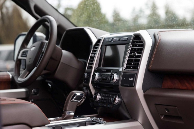 2018 Ford F150 Diesel Power Stroke - Interior
