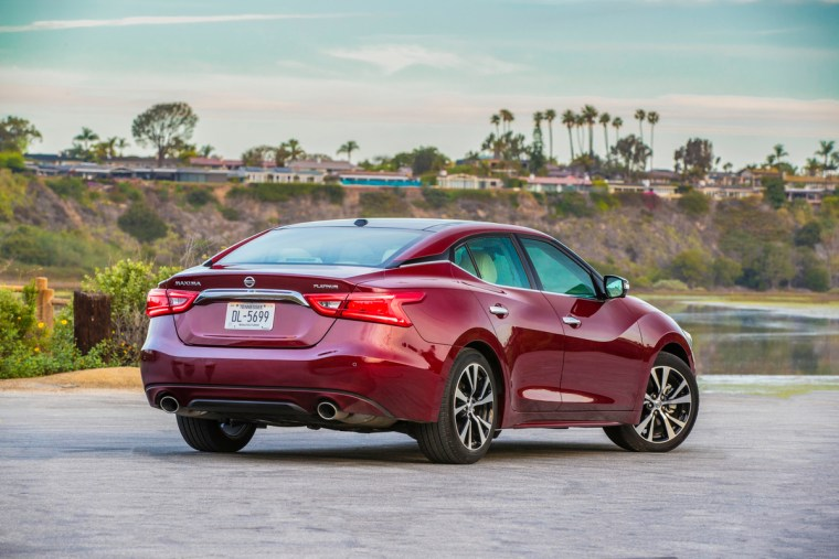 Now in its eighth generation, which was completely revised just two years ago, Nissan's Maxima sedan features standard Android Auto™ (in addition to standard Apple CarPlay™), new Carnelian Red color and new black accents added to its dramatic V-motion grille.
