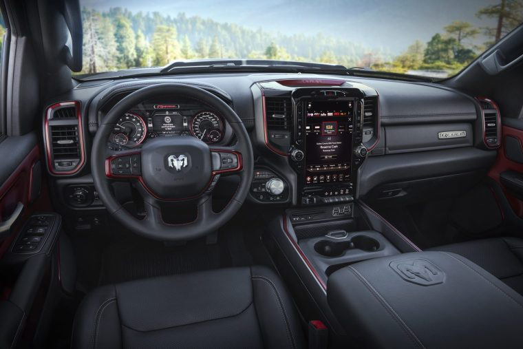 2019 Ram 1500 Rebel 12 overall interior