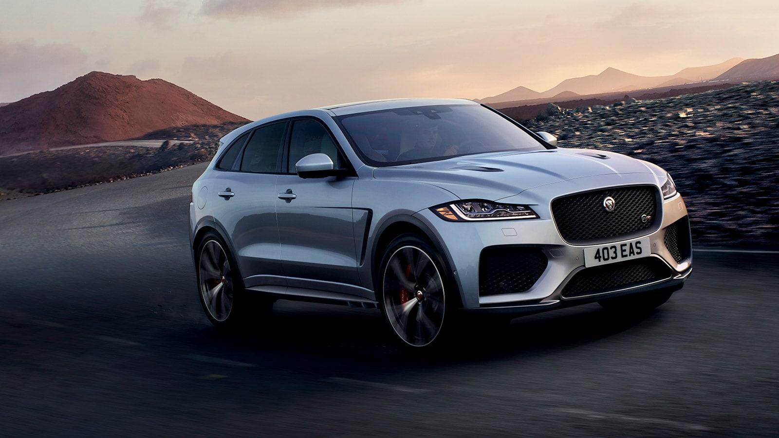 2019 Jaguar F-Pace SVR - Cover