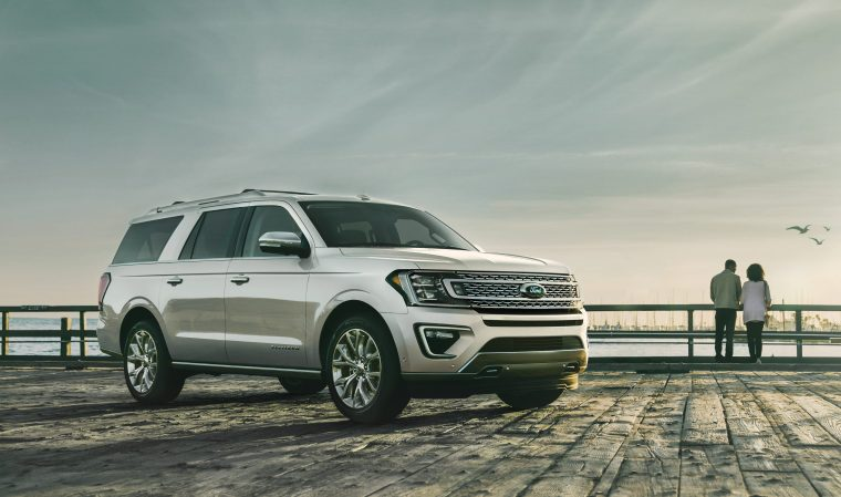 2019 Ford Expedition platinum ingot silver
