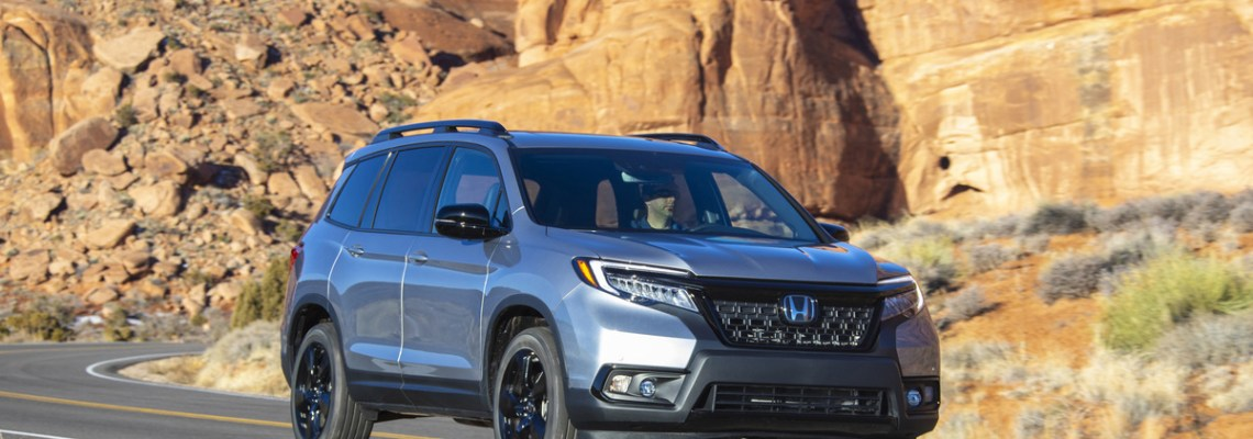 2019 Honda Passport - Cover