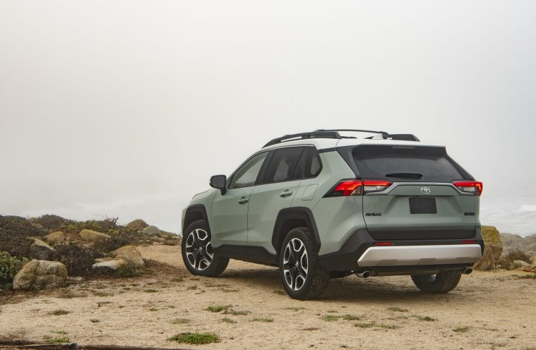 2019_Toyota_RAV4_Trail-Rear