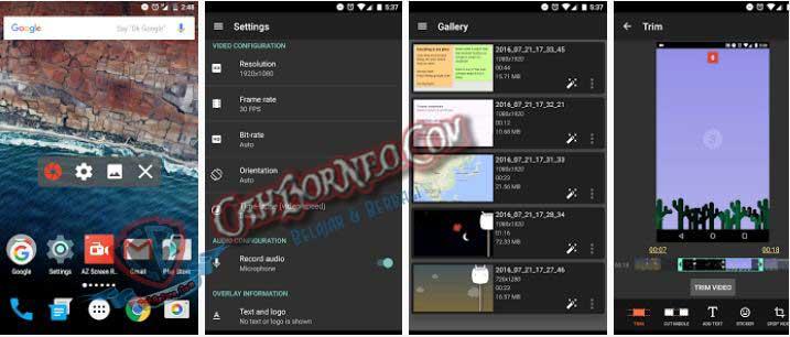 az screen recorder premium terbaru gratis