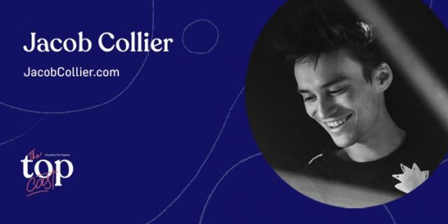 Jacob Collier, guest speaker on The TopCast show with Tim Topham