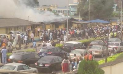 Fire razes FAAN headquarters