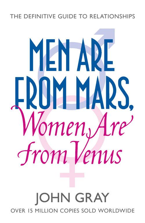Man from mars women from venus book