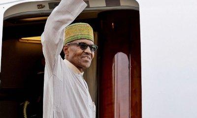 Photos: Buhari  Departs For New York