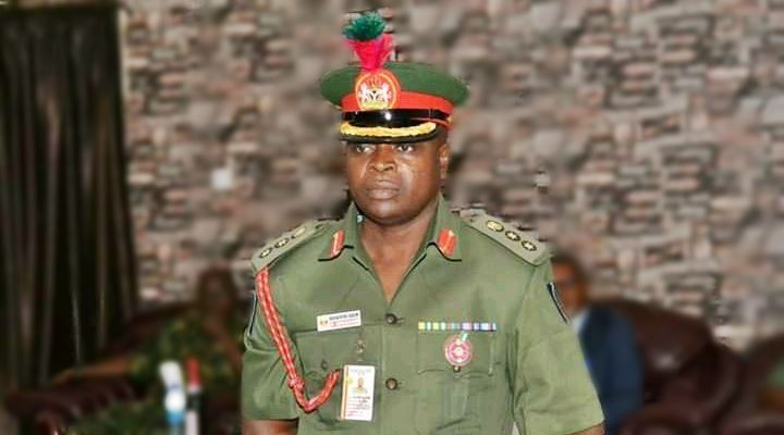 Brigadier General Shuaibu Ibrahim, DG, NYSC. Photo: TopNaija