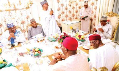 How I had bad relationship with National Assembly under Saraki, Dogara - Buhari