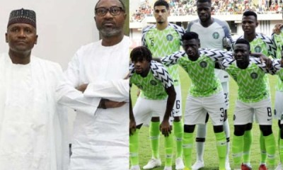 Super Eagles get $75.000