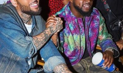 Davido and Chris Brown for Blow my mind video