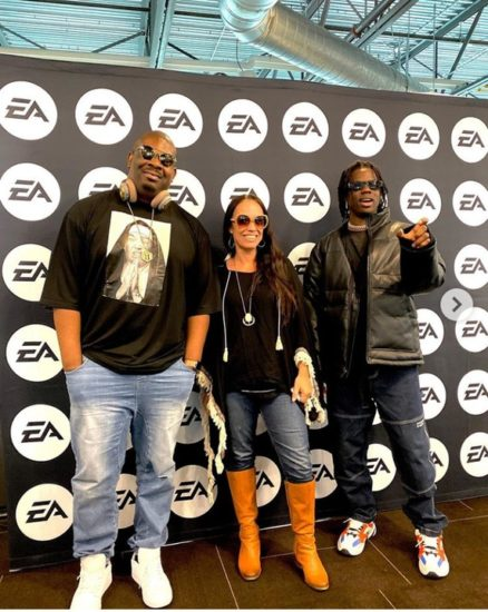 Don Jazzy and his team at EA