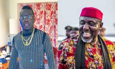 Duncan Mighty and Governor Rochas Okorocha