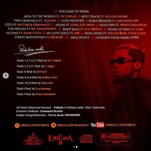 Download mp3 Erigga Street Motivation