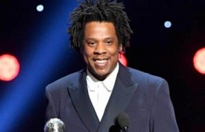 Jay-Z smiling