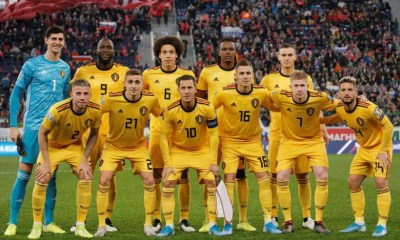Belgium National Team retains FIFA's Team of the Year crown for second year