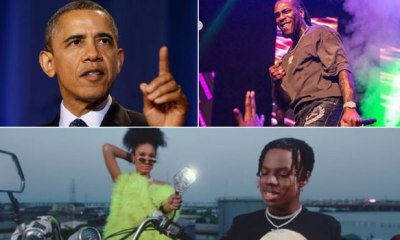Burna Boy, Rema feature on Obama's Favourite Music List for 2019