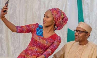 How Nigerians blame me for my father's actions, Buhari's daughter wails