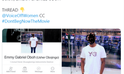 Nigerian lady calls out coursemate who alleged rape her