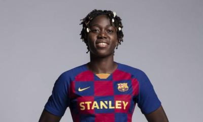 Asisat Oshoala responds after Nigerian officials didn't vote in her favour to win CAF Award