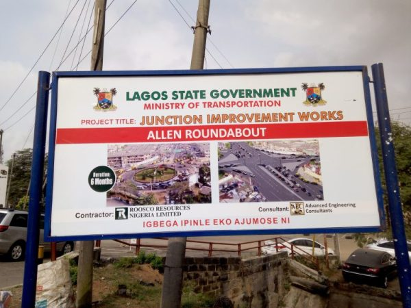 LASG pulls down Fela's statue at Allen Roundabout