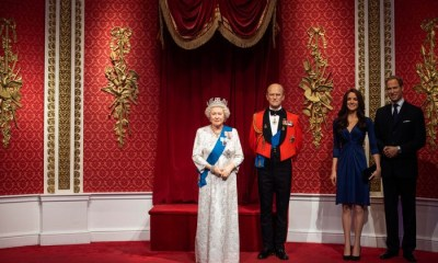 Madam Tussauds removes Prince Harry and Meghan Markle's wax figures