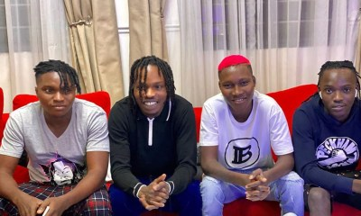 Naira Marley announces new label, signs Zinoleesky, 3 others