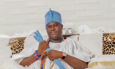 Ooni of Ife stuck in Lagos Hotel elevator for over 30 minutes [VIDEO]