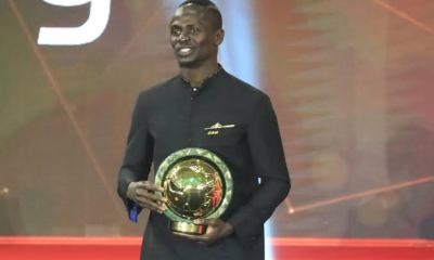 Sadio Mane wins CAF Player of the Year, Oshoala crowned in female category