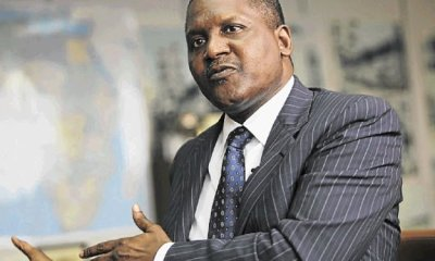 Dangote rises to 96th in the world, increases fortune by $4.3bn
