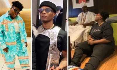 Teni reveals real details of her relationship with Wizkid to Ooni of Ife
