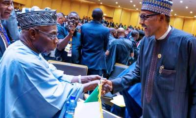 Buhari, Obasanjo meet on Sunday [PHOTO]