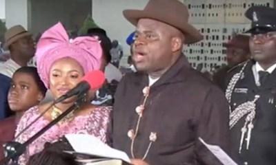 Duoye Diri is inaugurated Governor