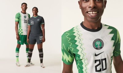 Nike unveils new Super Eagles jerseys for 2020