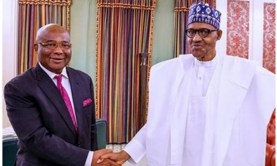 Uzodinma meets with Buhari, demands refund of N32bn spent on federal roads