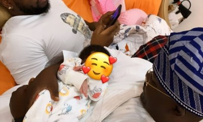 BamBam shares adorable photo of her dad and hubby with daughter
