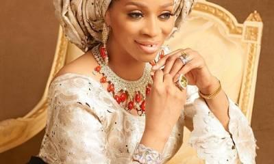 Billionaire wife, Shade Okoya shows off her massive bathroom [VIDEO]